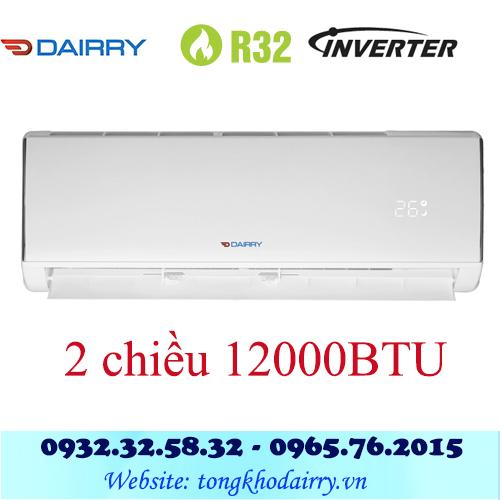 Điều hòa Dairry 12000BTU inverter 2 chiều i-DR12-KH