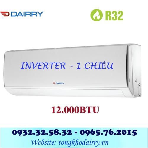 Điều hòa Dairry 12000BTU 1 chiều inverter i-DR12-KC