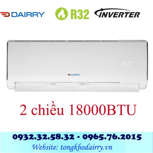 Điều hòa Dairry 18000BTU inverter 2 chiều i-DR18-KH