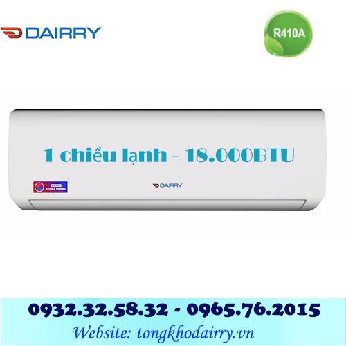 Điều hòa Dairry 1 chiều 18000BTU DR18-KC