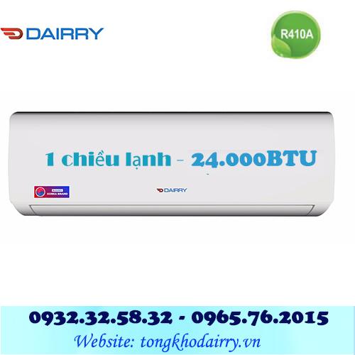 Điều hòa Dairry 1 chiều 24000BTU DR24-KC