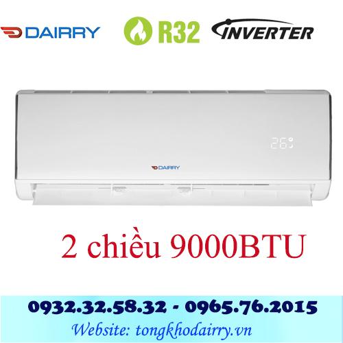 Điều hòa Dairry 9000BTU inverter 2 chiều i-DR09-KH