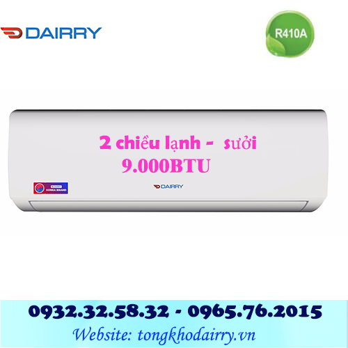 Điều hòa Dairry 2 chiều 9000BTU DR09-KH