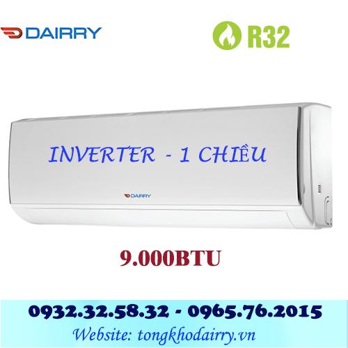 Điều hòa Dairry 9000BTU inverter 1 chiều i-DR09-KC